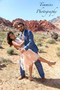 las vegas wedding in calico basin